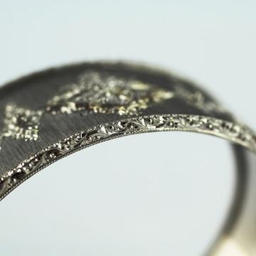 corso di incisione lao le arti orafe hand engraving lessons bracelet